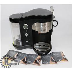 SUN CAFÉ COFFEE MACHINE WITH WOLFGANG PUCK COFFEE