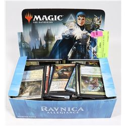 BOX OF MAGIC CARDS - AS THEY COME.