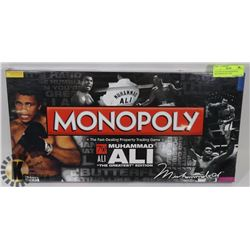 "FACTORY SEALED MONOPOLY MUHAMMAD ALI ""THE"