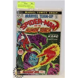 VINTAGE MARVEL TEAM UP SPIDERMAN & THE HUMAN TORCH