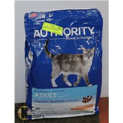 AUTHORITY CAT FOOD ADULT CHICKEN, 7LBS