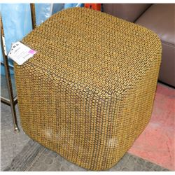 BOUTIQUE AMES OTTOMAN ON CHOICE: BROWN