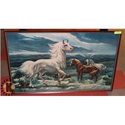 "WILD HORSE PRINT 25.5"" X 41.5"""
