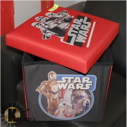 """STAR WARS STORAGE CONTAINER 15"""" TALL 14.5 WIDE"""
