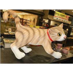 LARGE PLASTIC HANGING CAT FIXTURE ON CHOICE