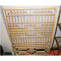 BOUTIQUE SOLID WOOD WALL HANGING. FURNITURE