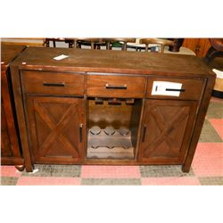 WOOD TONE SIDEBOARD - ON CHOICE