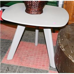"BOUTIQUE GREY END TABLE. 24""X20""."