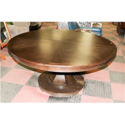 BOUTIQUE LARGE ROUND PEDESTAL KITCHEN TABLE
