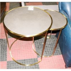BOUTIQUE BENNET BUNCHING TABLES. FURNITURE