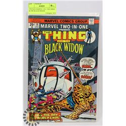 VINTAGE MARVEL 2 IN 1 THE THING & THE BLACK WIDOW