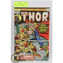 VINTAGE THE MIGHTY THOR MARCH 245, 25 CENT COMIC