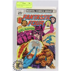 VINTAGE FANTASTIC FOUR AUG 173, 25 CENT COMIC