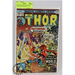 VINTAGE MARVEL THE MIGHTY THOR FEB 244, 25 CENT