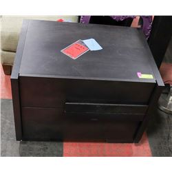 "BOUTIQUE HUPPY 2 DRAWER NIGHT STAND, 26""X19""X19""."