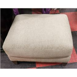 BOUTIQUE FABRIC OTTOMAN. FURNITURE