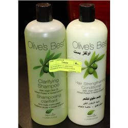 OLIVE'S BEST CLARIFYING SHAMPOO AND CONDITIONER