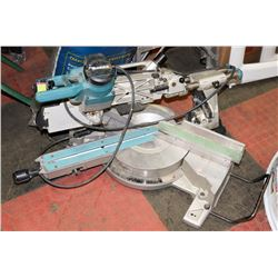 "MAKITA 12"" LS1216 COMPOUND MITRE SAW WITH LASER."