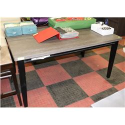 """RUSTIC STYLE KITCHEN TABLE, 36""""X60""""X30"""""""
