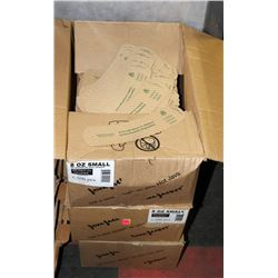 3 CASES OF 1500 8OZ JAVA JACKETS