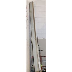 LOT OF 2 ASSORTED SIZED PROJECTOR SCREENS