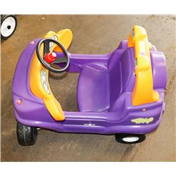 LITTLE TIKES CAR PURPLE & YELLOW