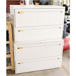 2 MED FILING STEEL CABINETS-2 DRAWERS