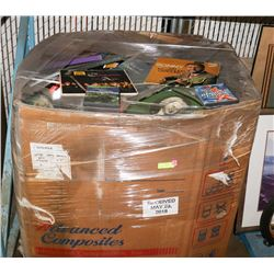 PALLET OF MIXED MEDIA-1000'S OF ITEMS