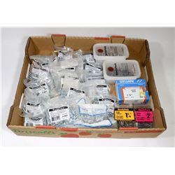 BOX OF ASSORTED RICHELIEU MACHINE BOLTS-20 PKGS
