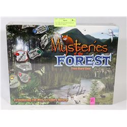 FACTORY SEALED MYSTERIES OF THE FOREST TRIVIA