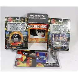LOT OF KISS COLLECTIBLES.