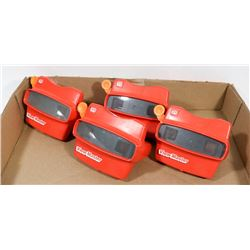 4 PC VINTAGE VIEW MASTER