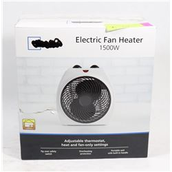 UNUSED 1500W ELECTRIC FAN / HEATER