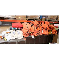 LARGE LOT OF APPROX 20-25 ARC FLASH KITS