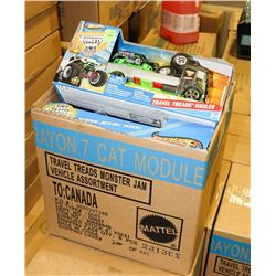 CASE OF 6 NEW HOT WHEELS MONSTER JAM TRUCKS