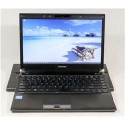 TOSHIBA PORTEGE iNTEL i5 LAPTOP WIN 10 PRO SSD