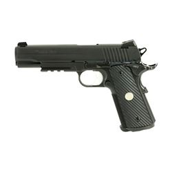 "SIG 1911R TO 10MM 5"" BLK 8RD NS"