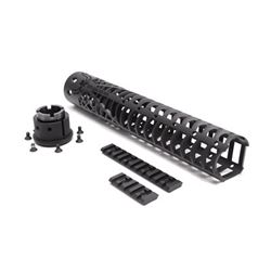 "SPIKE'S SPIDER WEB RAIL 12"" BLK"