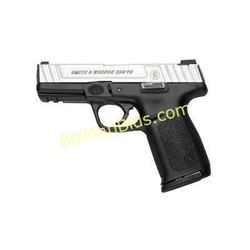 """S& W SD9VE 9MM 16RD 4"""" DT FS 2MAGS"""