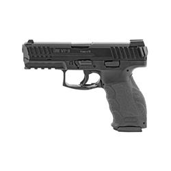 "HK VP9 9MM 4.09"" 15RD BLK NS 3MAGS"