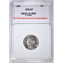1956 JEFFERSON NICKEL SUPERB GEM