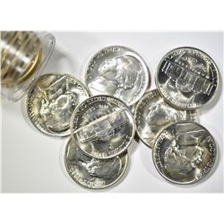 BU SILVER JEFFERSON NICKEL LOT: