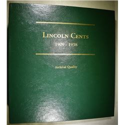 LINCOLN CENT BOOK 1909-1958
