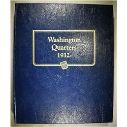 WASHINGTON QUARTER BOOK 1932-1964