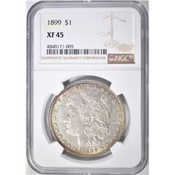1899 MORGAN DOLLAR  NGC XF-45