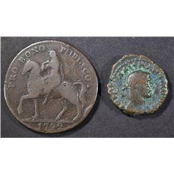 235 -38 AD MAXIMINUS I ALEXANDRIA VF &