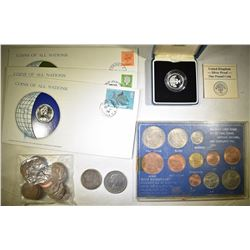 BRITTISH COIN COLLECTION - 37 COINS