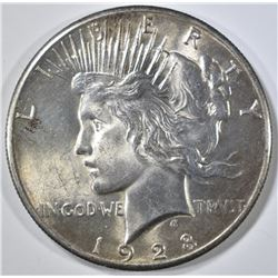 1928 PEACE DOLLAR  GEM BU