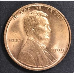 1909 LINCOLN CENT   GEM BU RD