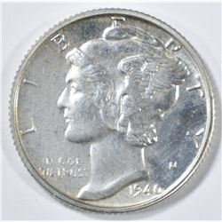1940 MERCURY DIME GEM PROOF
